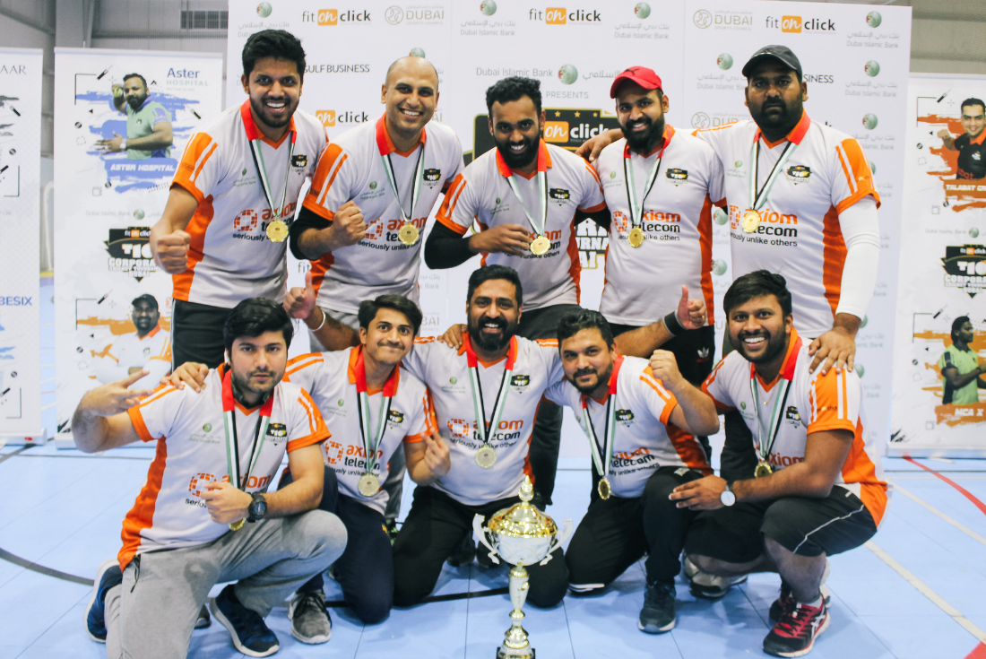 A Fine Nine-th Edition of Fit On Click T10 Corporate Cricket Tournament