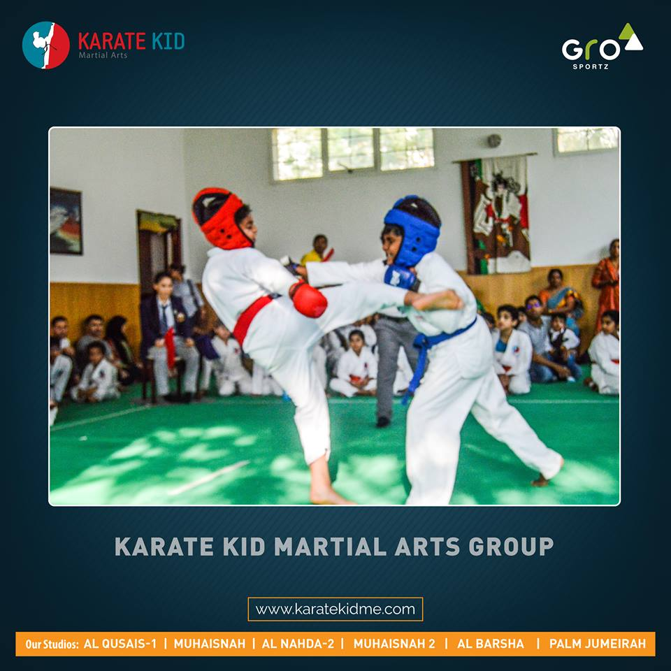 Karate Kid Martial Arts::Fit On Click